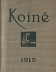 Koiné 1919 by Connecticut College